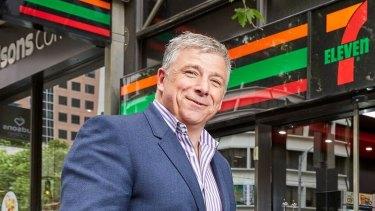 7-Eleven chief executive Angus McKay.