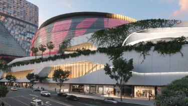 The Brisbane Live project will transform the Roma Street railyards area into a world-class entertainment venue.