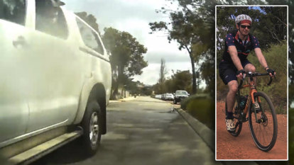 Perth cyclist says one-metre rule a joke after damning video