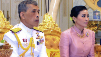 Thailand's King marries his 'bodyguard' and makes her Queen days before coronation