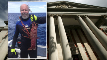 Bret Carter has been a recreational crayfish diver for 40 years.