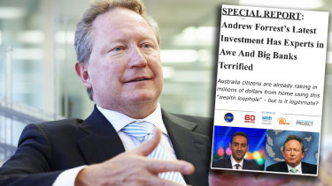 Abc new andrew forrest cryptocurrency