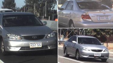 Police are searching for Julie Cooper's car 1CGT 526.