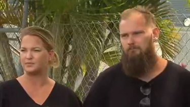 Swedish medics Emma Andersson (left) and Billy Ludvigsson (right) whose first aid saved the shark attack victims' lives.