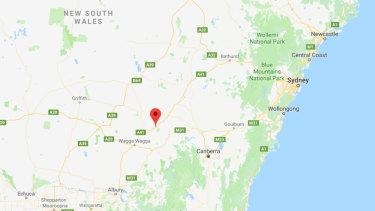 Bethungra, NSW.