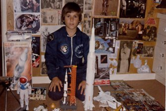 Marco Nero, a passion for all things space from a young age.