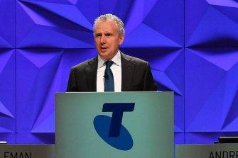 Telstra CEO Andrew Penn.