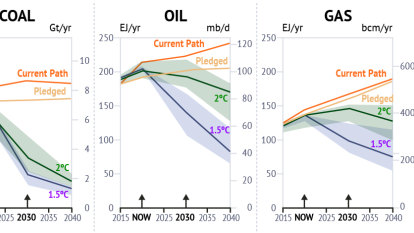 Gas is not a transition fuel to a safe climate. That ship has sailed