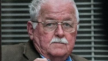 Accused Family Court bomber Leonard John Warwick.