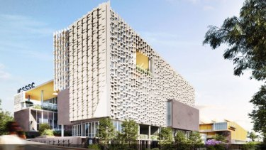 The project is the largest single project funded from the Queensland government's $800 million Building Future Schools program.