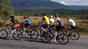 The 2013 charity bike ride through Cambodia that inspired HoMie.