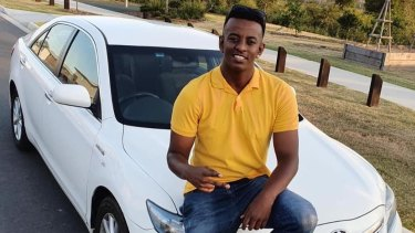 Girum Mekonnen, 19, was fatally stabbed atO'Callaghan Park in Zillmere in Brisbane's north on Sunday evening.