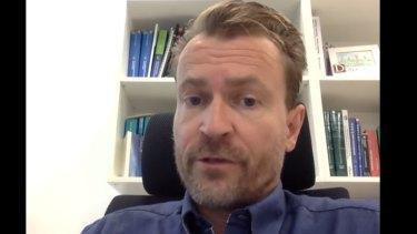 Professor Hans Peter Dietz.