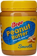 "Bega is ""exclusively entitled"" to use the yellow lid and red and blue peanut label."