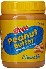 """Bega is """"exclusively entitled"""" to use the yellow lid and red and blue peanut label."""