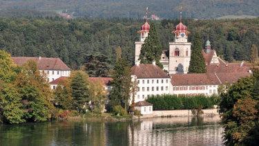 Rheinau, Switzerland.
