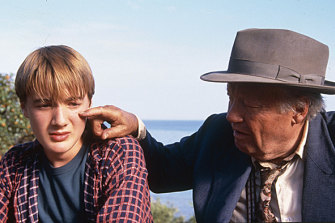 A 2001 publicity shot from ABC series Round The Twist, which has become popular with people buying DVD box sets to watch during Victoria's lockdown.
