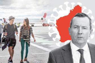 Qantas pushes back WA flight reboot, reroutes London direct flight due to state's hard border