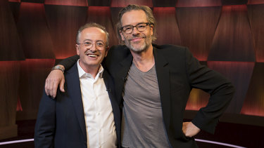 Guy Pearce has given a candid, wide-ranging interview on Andrew Denton's show, Interview.