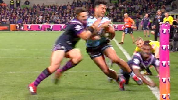 Storm will argue Slater 'collision' never put Feki at risk of injury