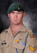 Corporal Cameron Baird, who received the VC posthumously for service in Afghanistan.