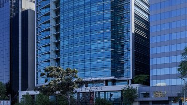Kimberly Clark and Infosys have leased space at 100 Arthur Street, North Sydney.