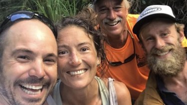 Amanda Eller, who ventured into a dense forest in Hawaii more than two weeks ago and vanished, was found by rescuers.
