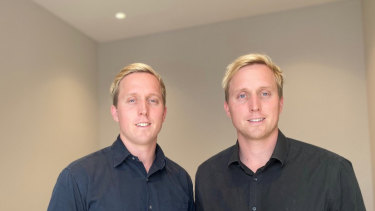 Julian (left) and Ian Fagan are the co-founders of Skodel.
