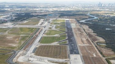 Brisbane's new parallel runway will open on July 12.