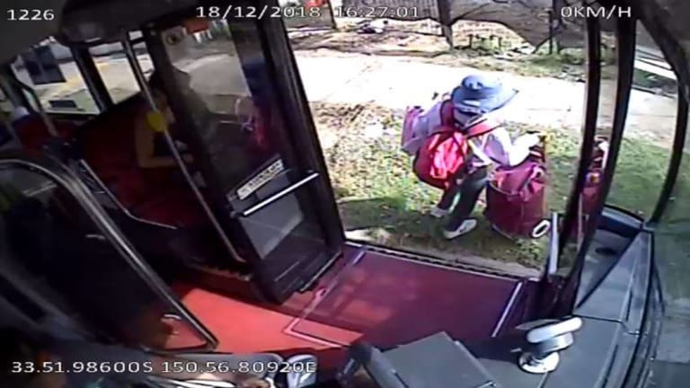 Police have releasedCCTV images of 55-year-old Minda Limbo, who was on a bus shortly before the crash.