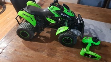 Kmart has received several reports of it ATV Madness remote control quad bike overheating.