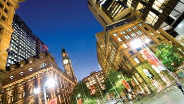 Abacus Property's 14 Martin Place, Sydney has seen a rise of 10 per cent in rents.