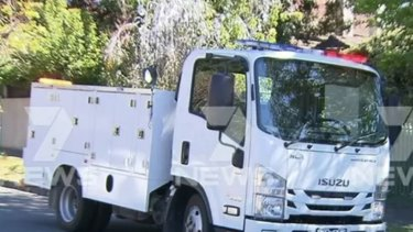 The teenager allegedly drove the purpose-built emergency truck at high speeds to accident scenes around Melbourne.