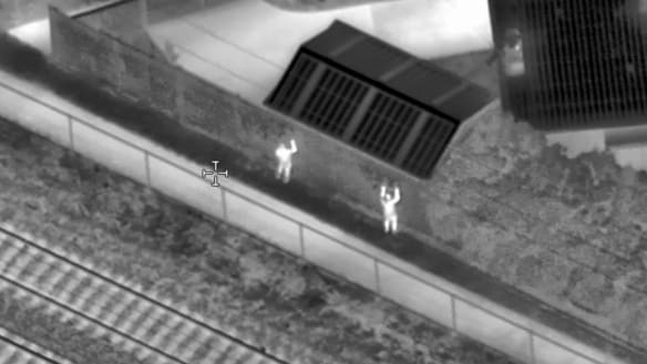 Metro turns up heat on paint-can vandals with thermal-imaging drones