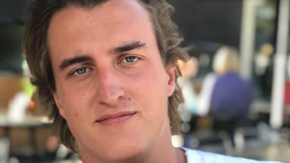 Henry Brayshaw, son of former North Melbourne Football Club chairman James Brayshaw.