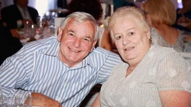Barry and Maureen Preedy were to celebrate their 50th wedding anniversary next year.