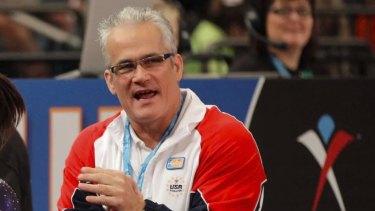 John Geddert was head coach of the 2012 U.S. Olympic women's gymnastics team.