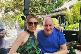 Magistrate Rodney Higgins with his new fiance Ashleigh Petrie
