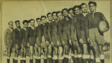 The side included Jackie Simms, the father of rugby league great Eric Simms, as well as Isaac's brother Jack McLaren.