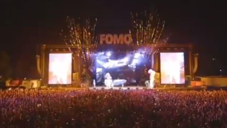 Fomo music festival, Parramatta.