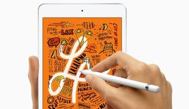 The new iPad mini.