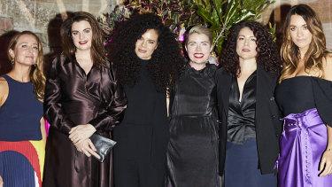 Eugenie Kelly, Louise Milligan, Angela Tiatia, Clementine Ford, Rebecca Huntley and Laura Wells