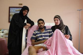 Mr Talib was shot by Israeli soldiers in 2010.