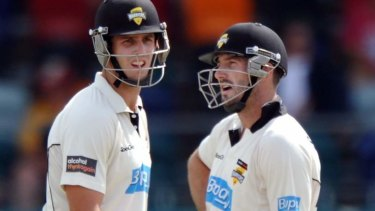 The Marsh brothers, Mitch, left and Shaun, have been maligned for most of their international careers
