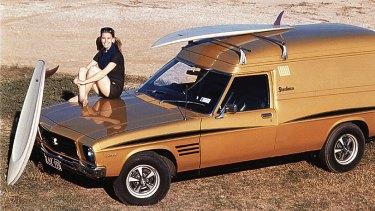 The Holden Sandman was part of the Australian beach culture.