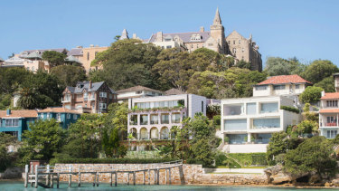 Samira Jeihooni splashed $30 million to buy waterfront Bayview Hill Road property last year and is off on a $5.85 million knock-down rebuild.