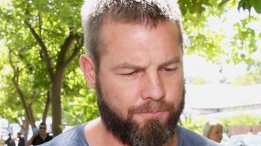 Ben Cousins has been fined after being arrested with methamphetamine.