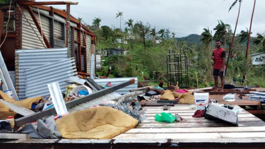 Authorities are still assessing the damage from tropical cyclone Yasa.