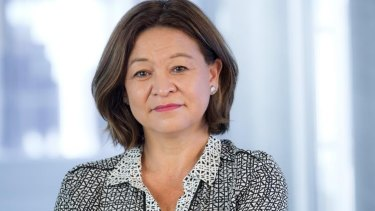 ABC managing director Michelle Guthrie has criticised the reduction in funds for the broadcaster in the government's latest budget.