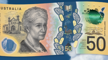 The new $50 bank note.